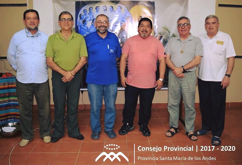 Consejo Provincial para el trienio 2017 – 2020